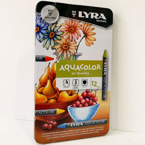 Lyra Aquacolor 12'li